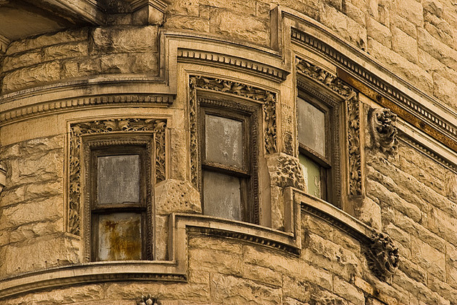 architectural detail at Juniper and Chestnut | Flickr user Rob Lybeck, Eyes on the Street Flickr group