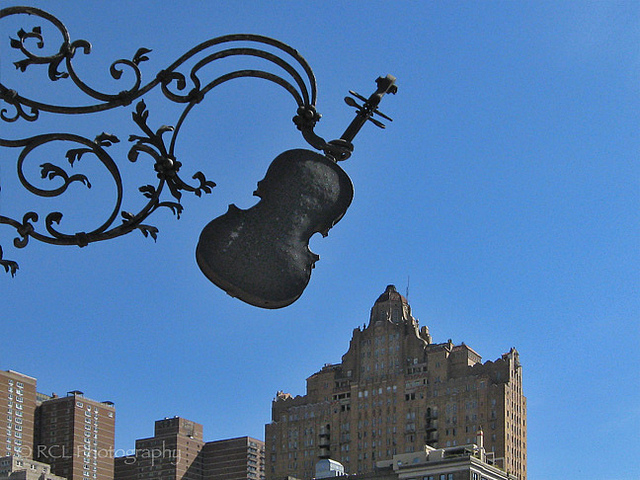 Musical Skyline | Flickr user Rob Lybeck, Eyes on the Street Flickr group