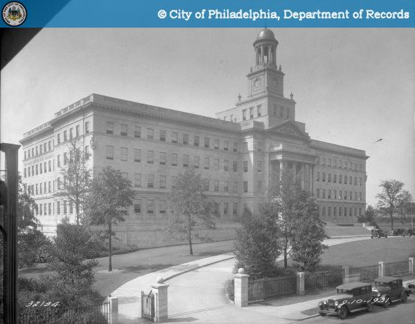 The new Provident Mutual Life Insurance building at 4601 Market Street in 1931. | Department of Records, PhillyHistory.org
