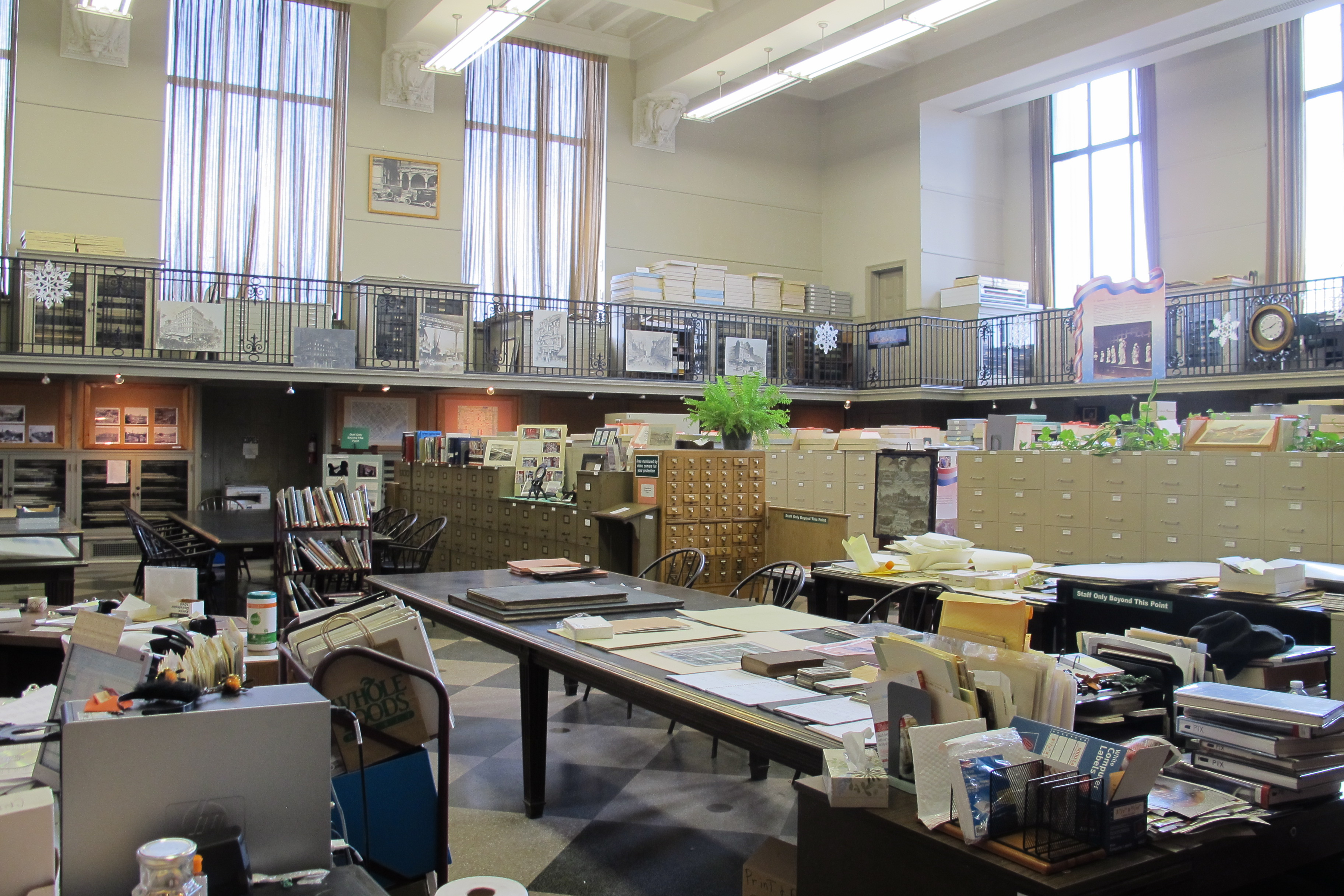 Print and Pictures holds 1.5 million items at the Free Library's Parkway Central.