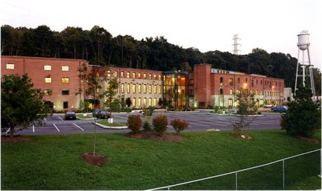 River Park (former Simpson Paper Mill), after renovation in 2000. | Blackney Hayes Architects