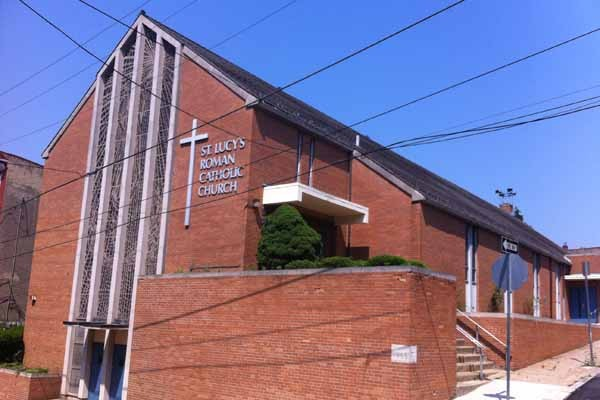 St. Lucy's Roman Catholic Church in Manayunk will hold its last mass this Sunday. | Amy Z. Quinn