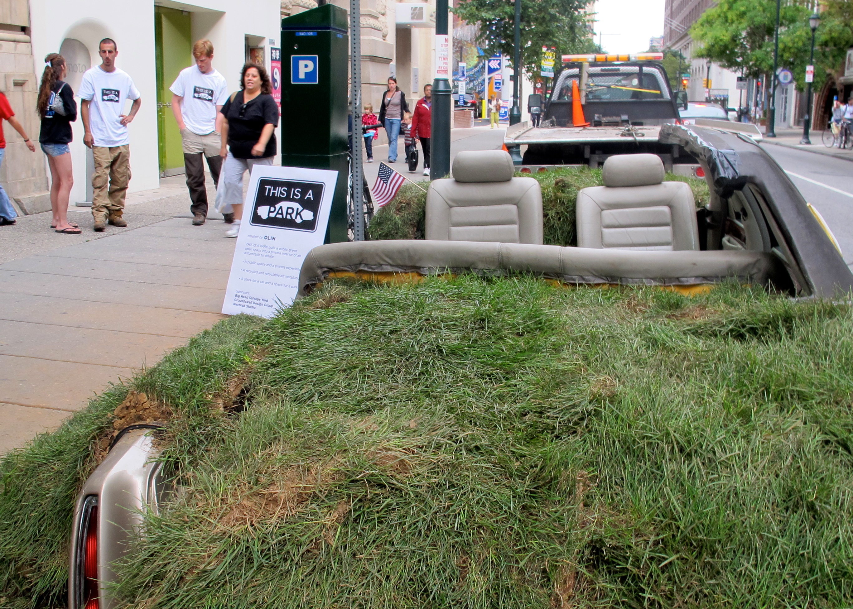 Meet up on Wednesday to discuss this year's Park(ing) Day.