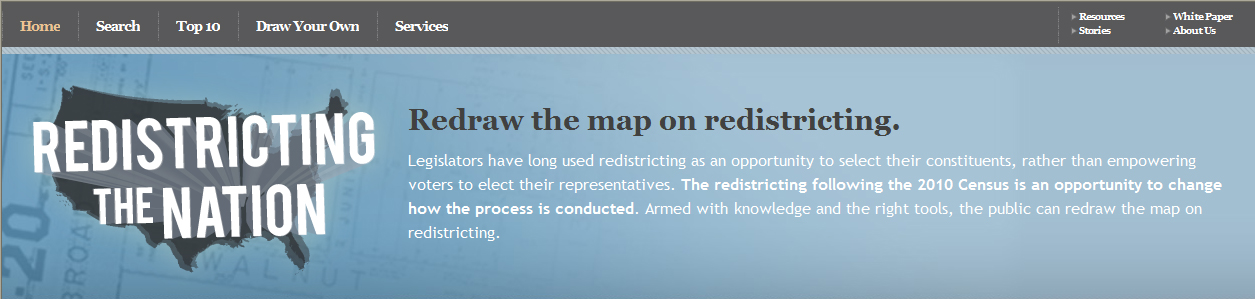 Avencia Launches Redistricting the Nation.com