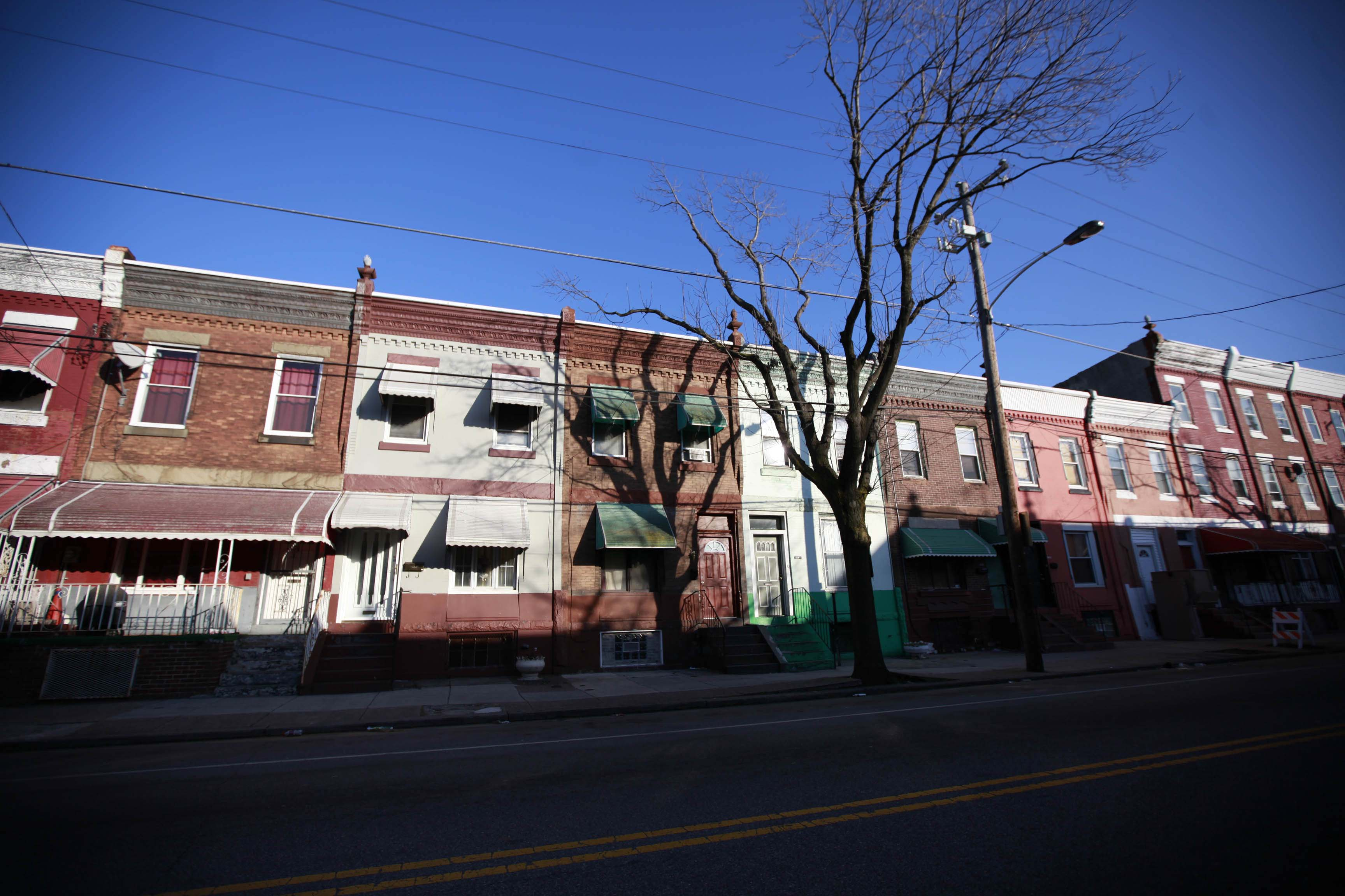1500 block of N. 29th Street, Philadelphia March 6, 2013. (David Swanson / Inquirer Staff Photographer)