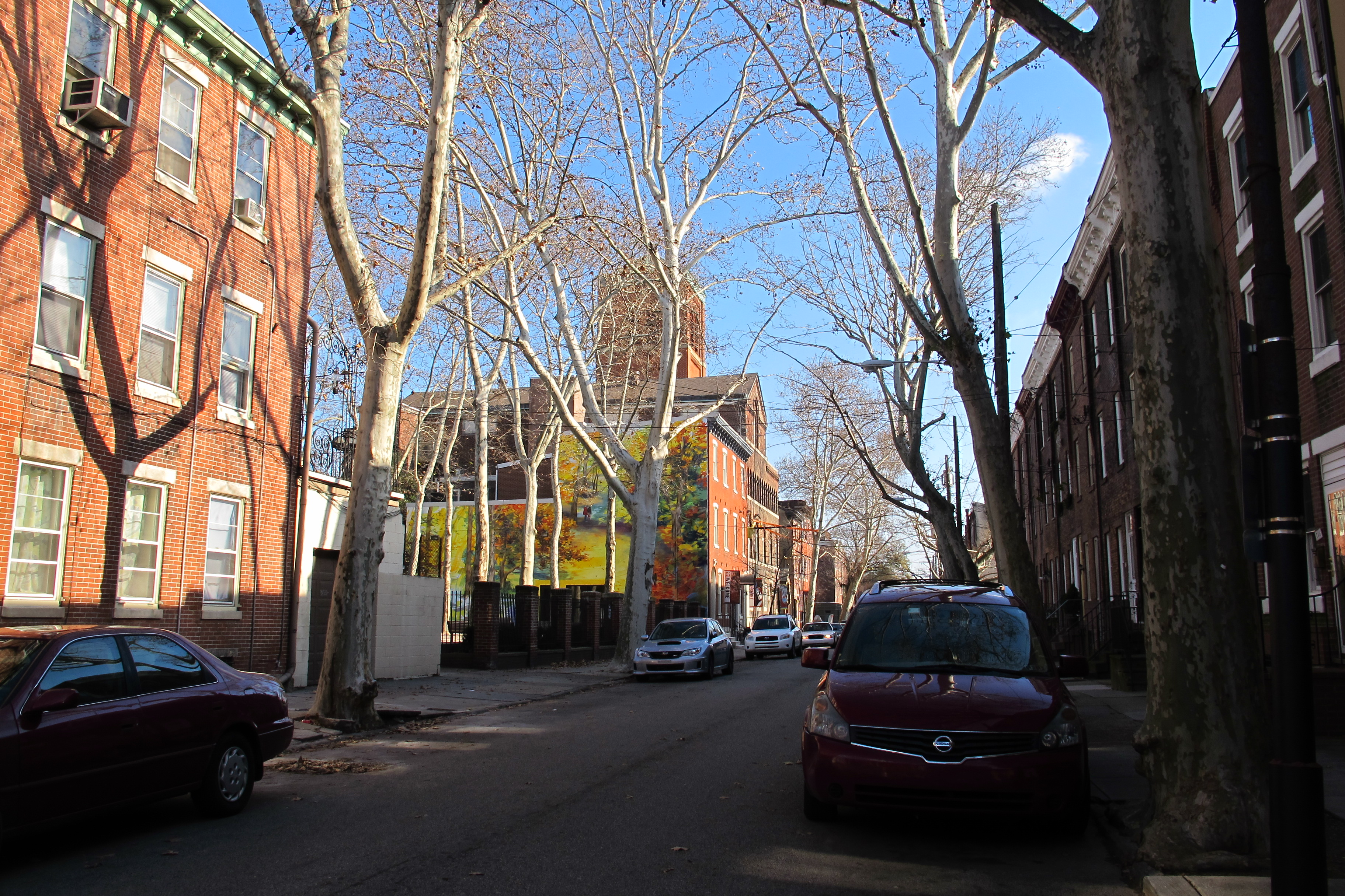 700 block of Catharine Street, Palumbo Park midblock