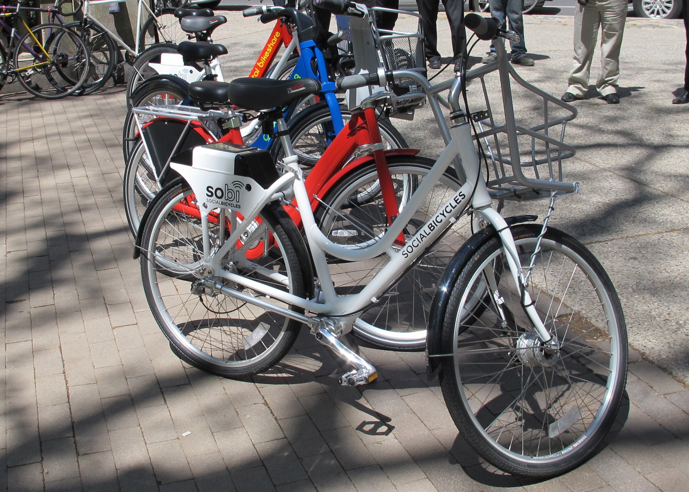 A Social Bicycle model