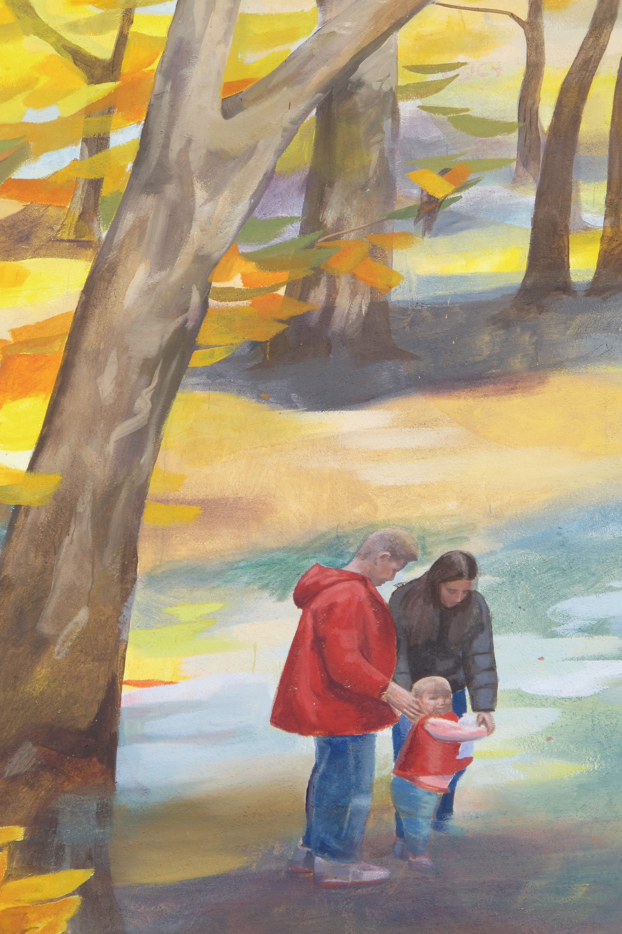 Autumn Revisited - Detail of children