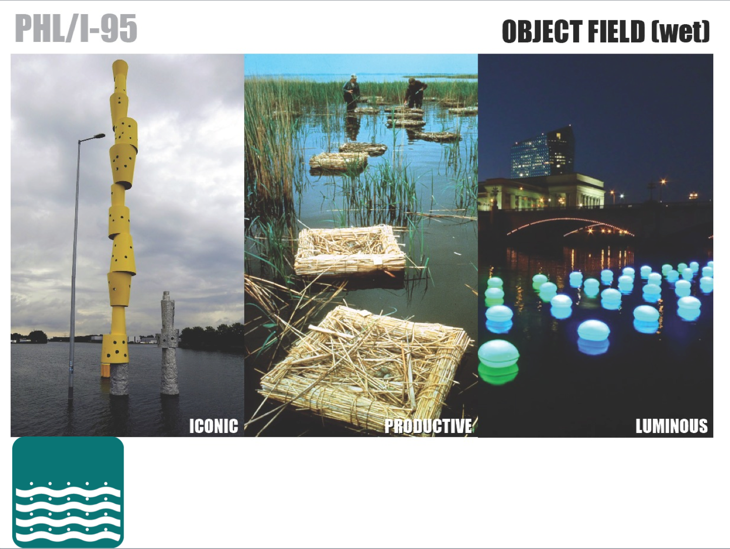 Civic Landscape PHL / I-95 - Object Field Wet | courtesy of PHS