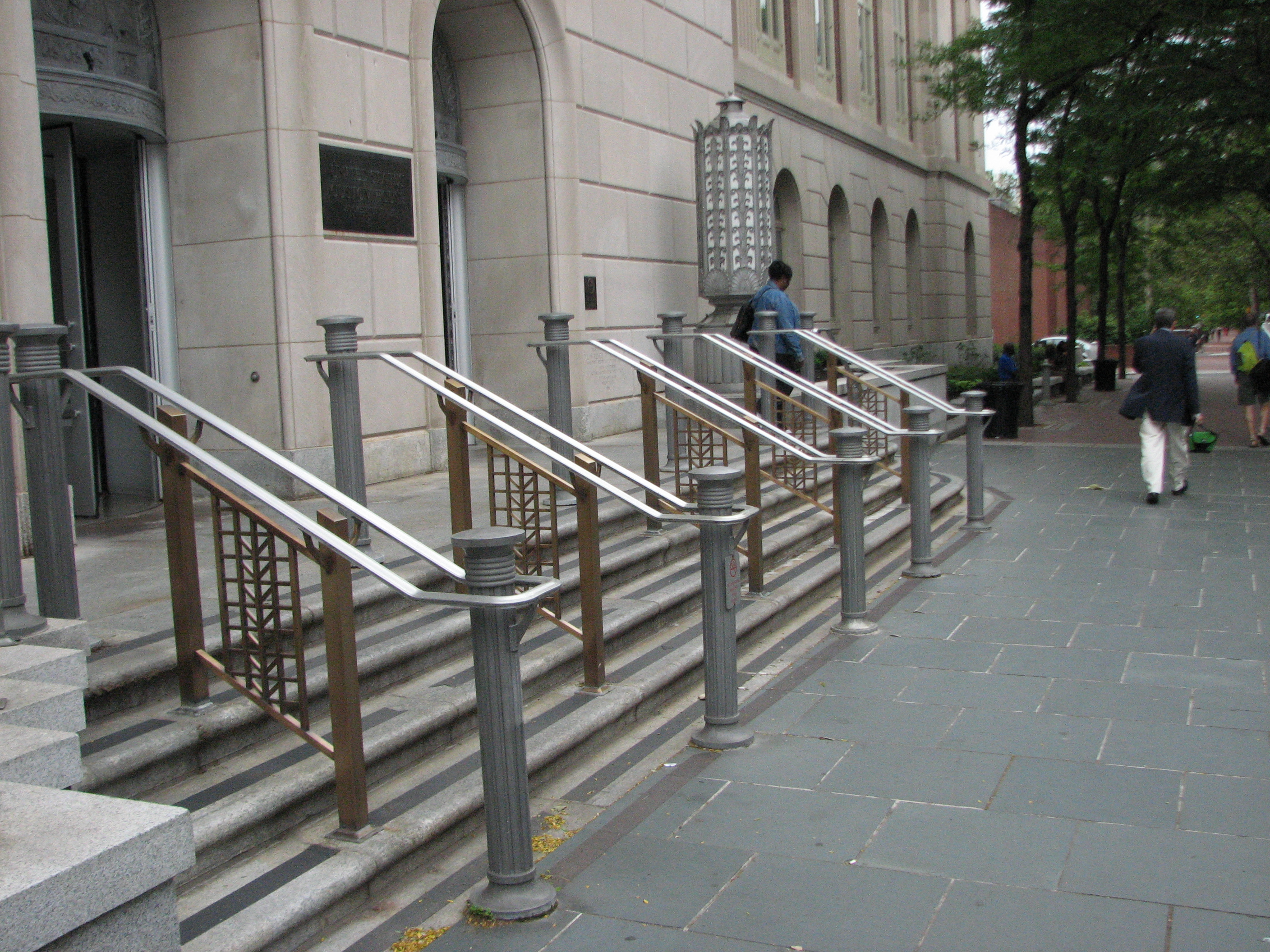 custom house railings