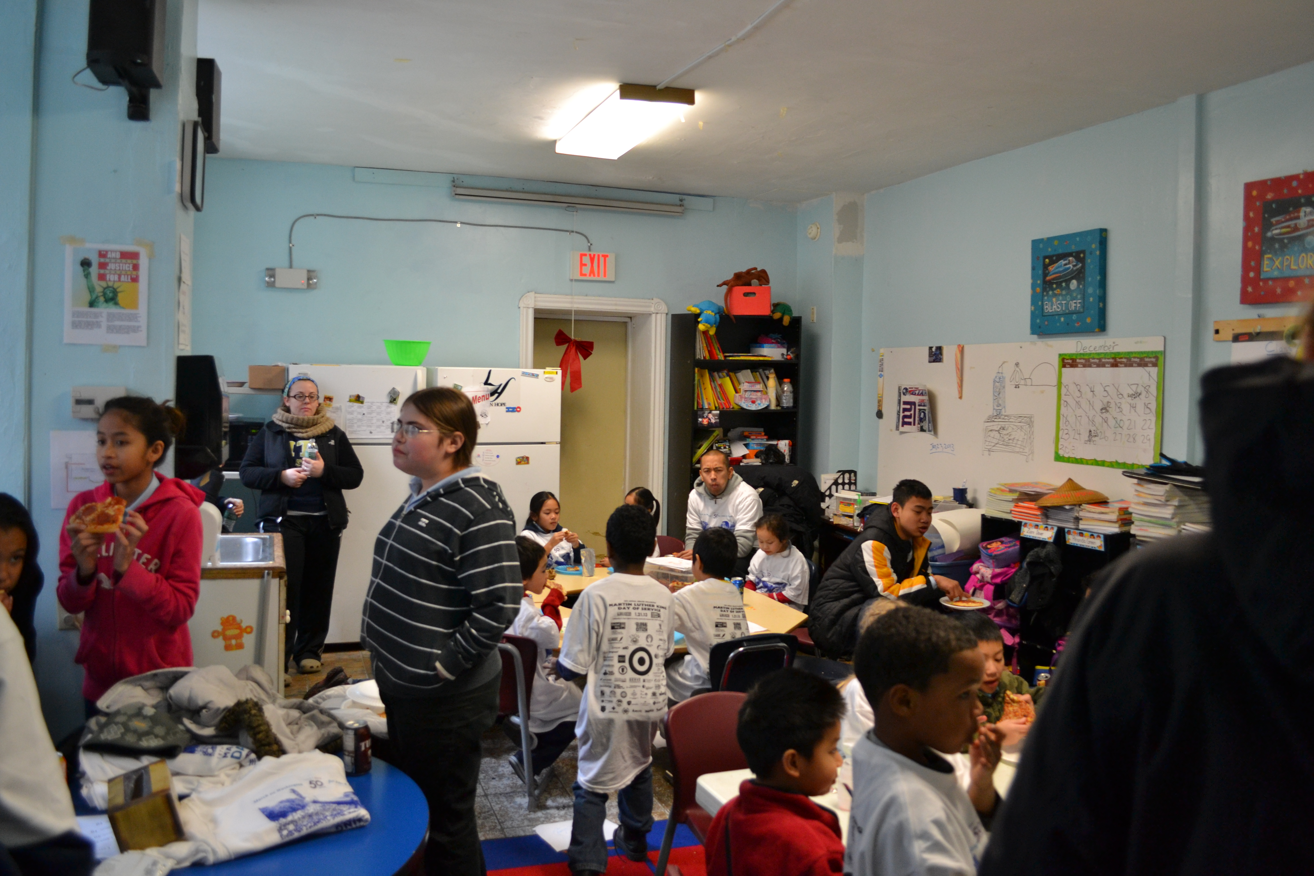 MLK Day of Service, LOGAN Hope School