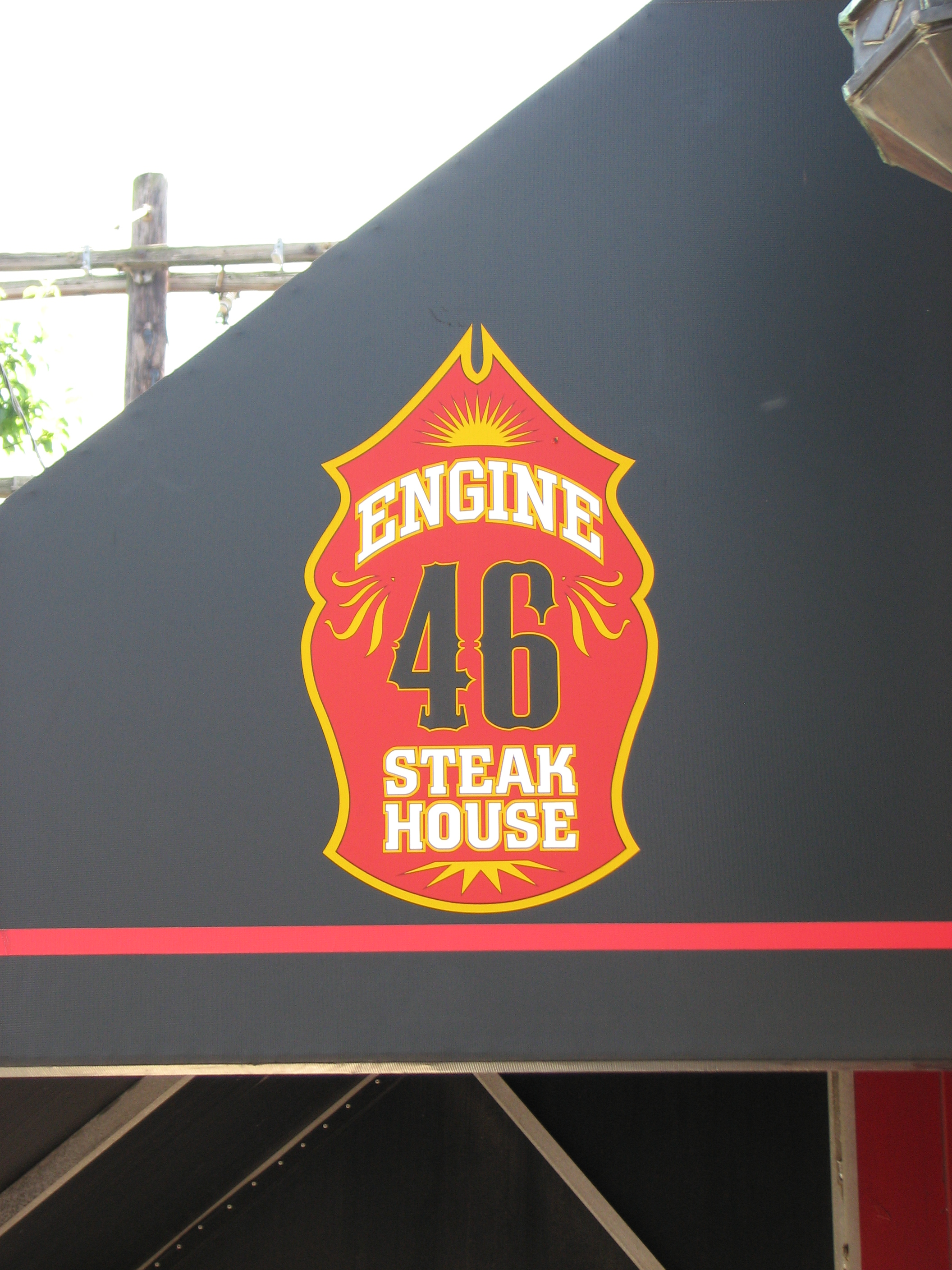 For about 10 years the firehouse was repurposed as a steakhouse.