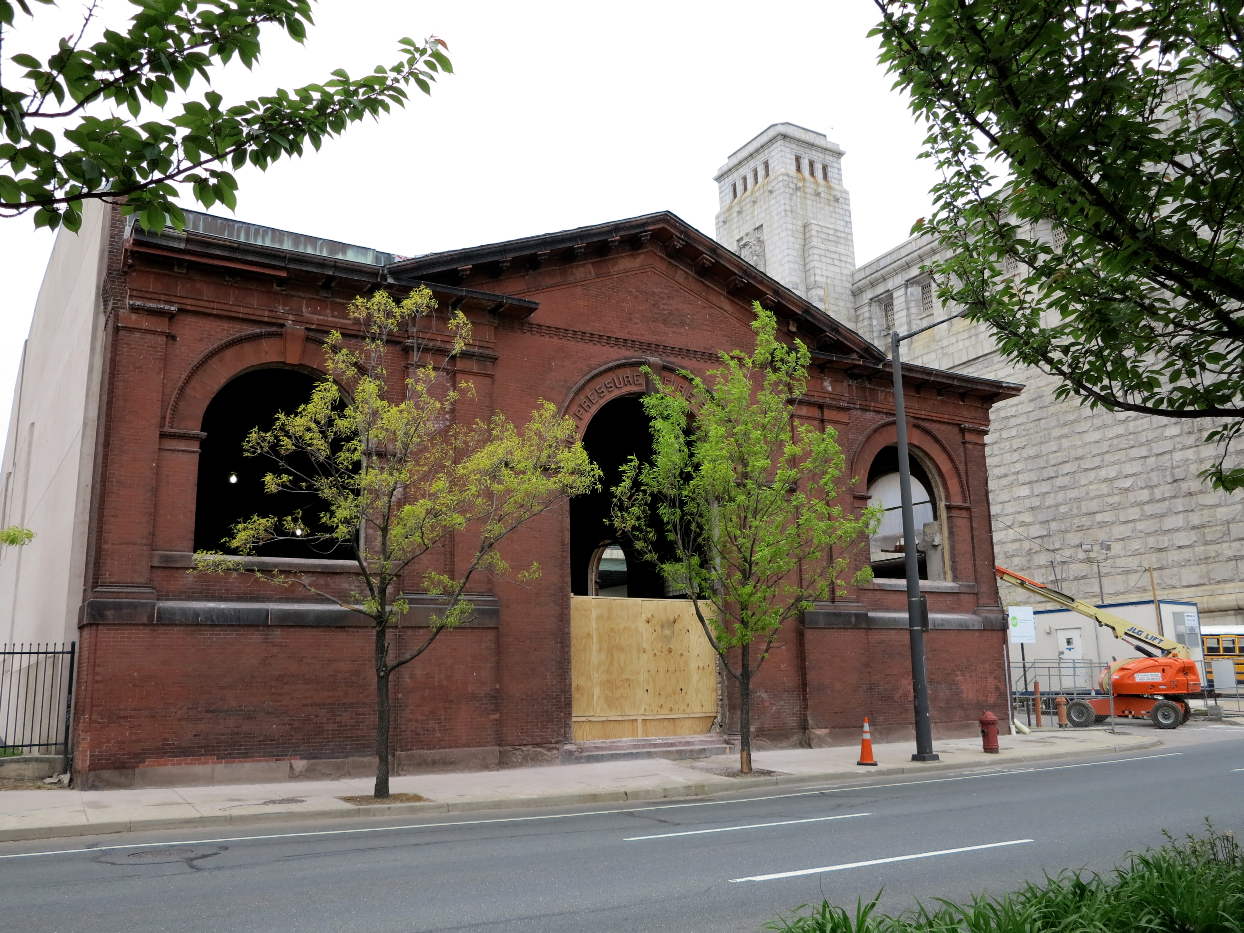 Future home of FringeArts, May 2013