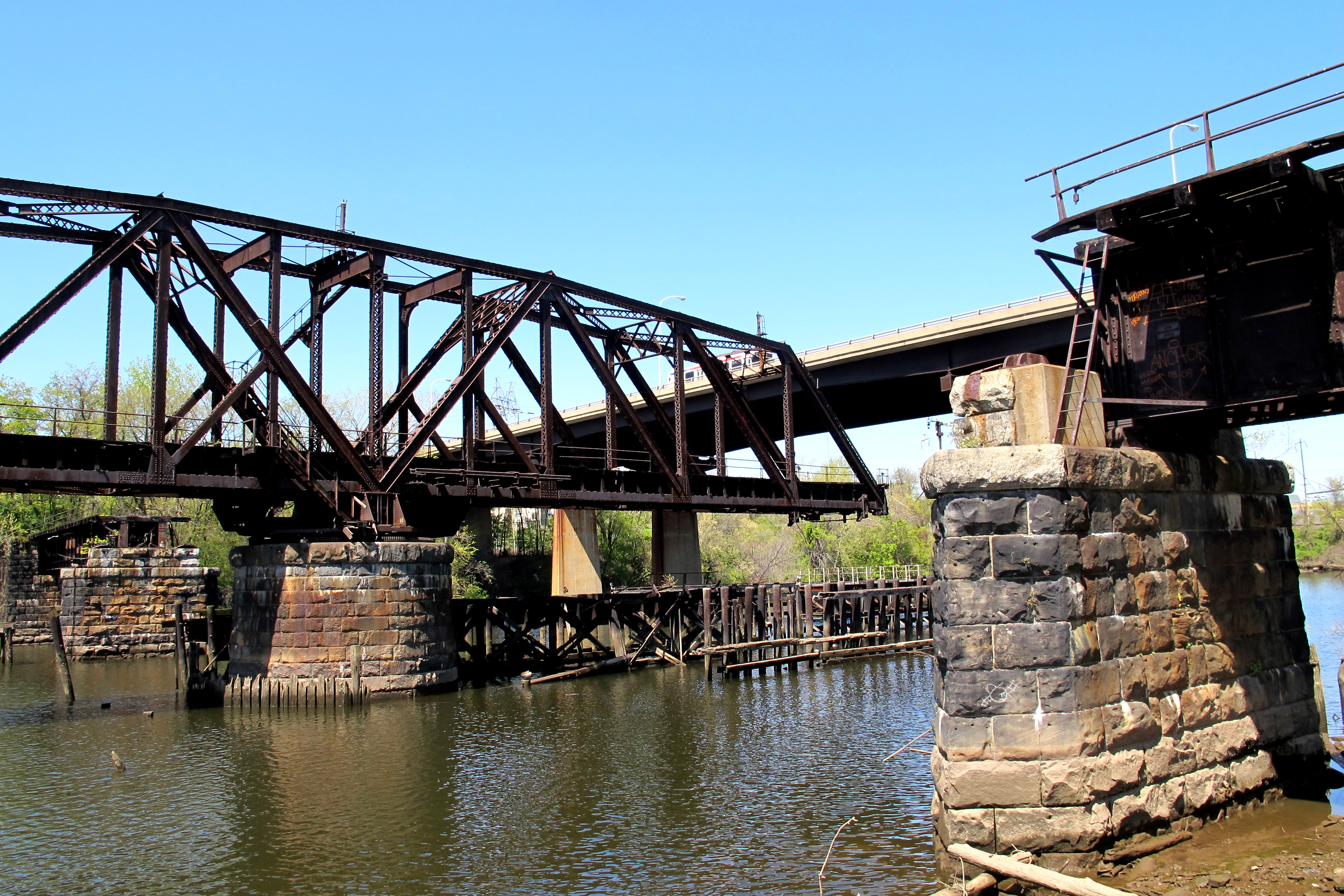 Grays Ferry Crescent swing bridge