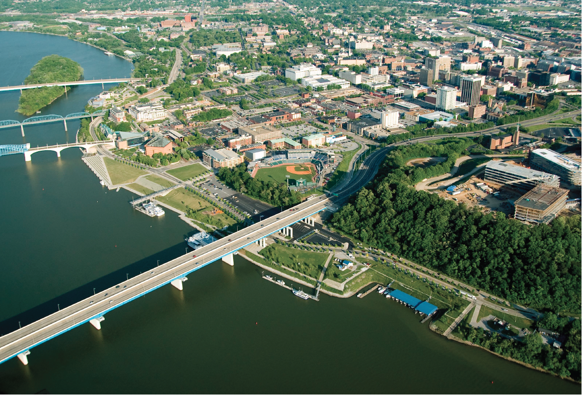 Hargreaves' 21st Century Waterfront Park in Chattanooga 2
