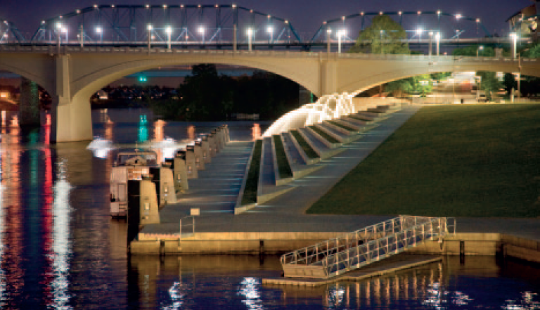 Hargreaves' 21st Century Waterfront Park in Chattanooga