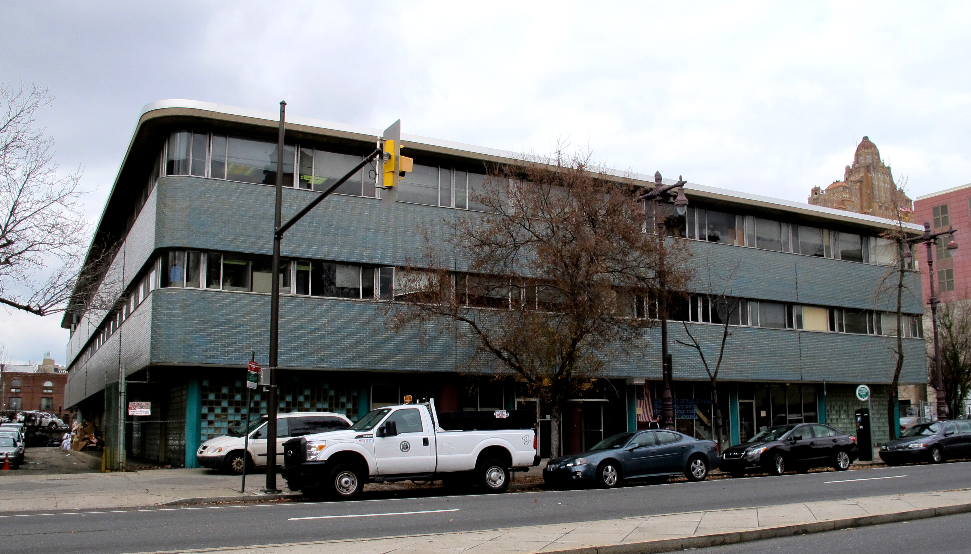 Health District #1, Broad and Lombard streets. Built 1959.