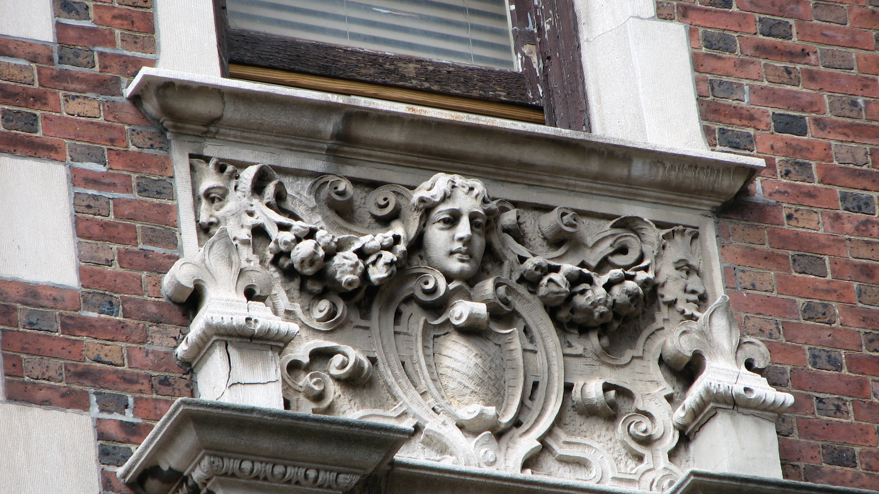 Detail of 1923 Walnut Street | Alan Jaffe, PlanPhilly
