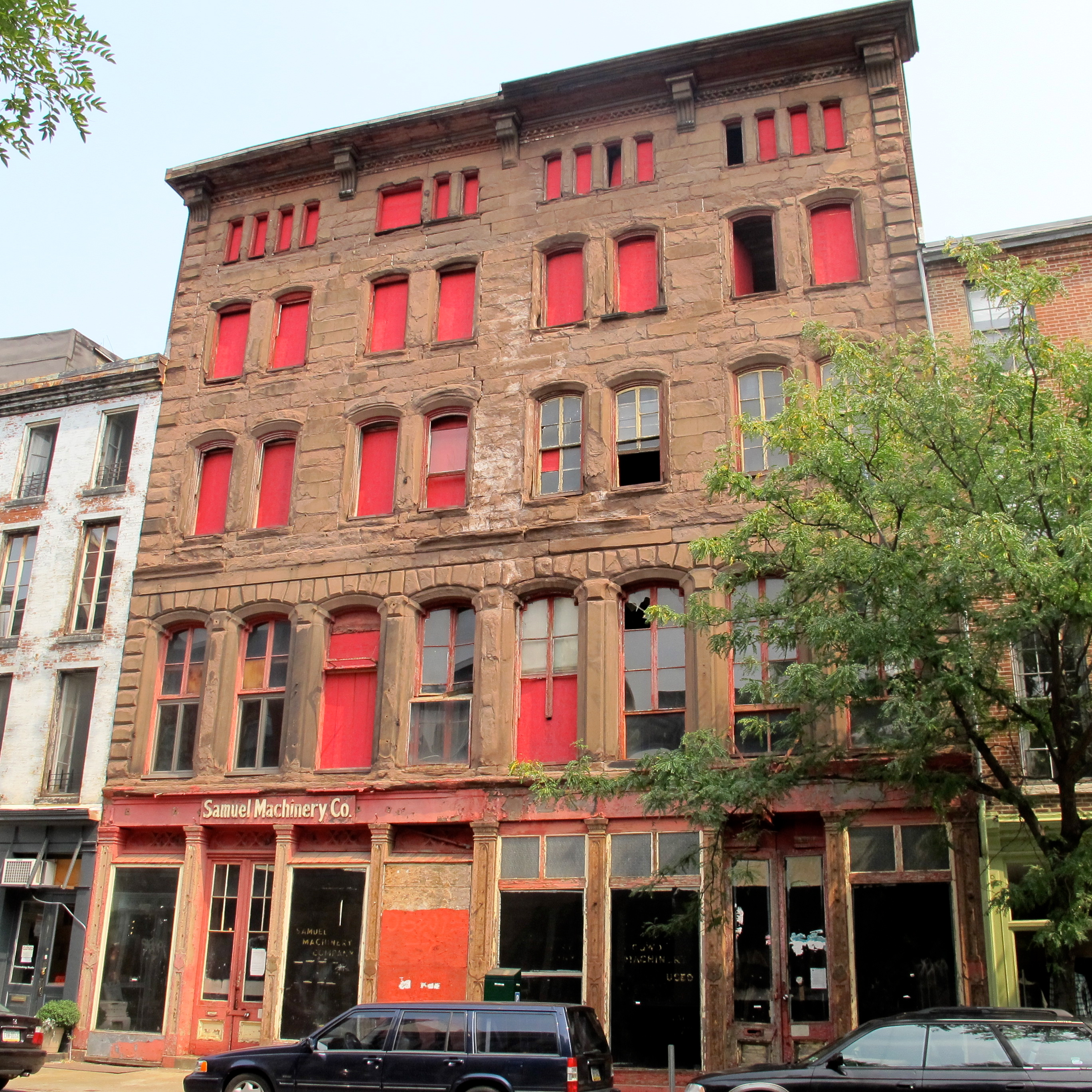 Will the former Samuel Machinery Company building at 137 N. 3rd Street finally be redeveloped.