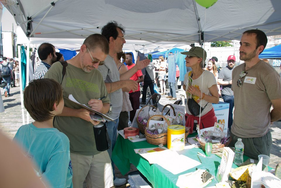Kensington Community Food Co-op has been attending neighborhood events since 2009 to sell some products and boost membership. | Photo provided by KCFC