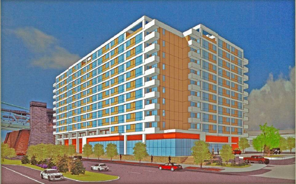 Marina View Apartments rendering.