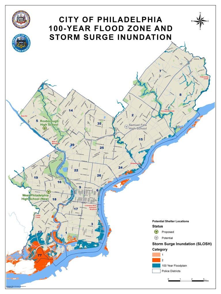100-Year Flood Zone and Storm Surge | Office of Emergency Management