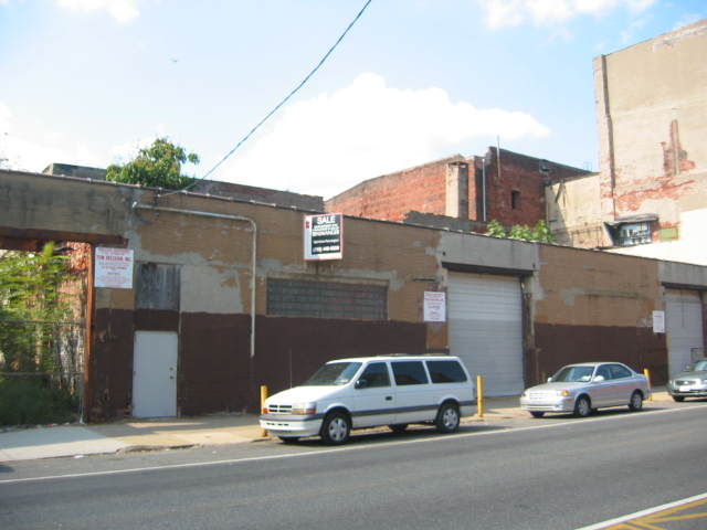 Frankford Hall - Before