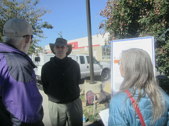 MOTU's Charles Carmalt spoke with scavenger hunt participants about improvements that could be made to areas like 10th Street and Washington Ave