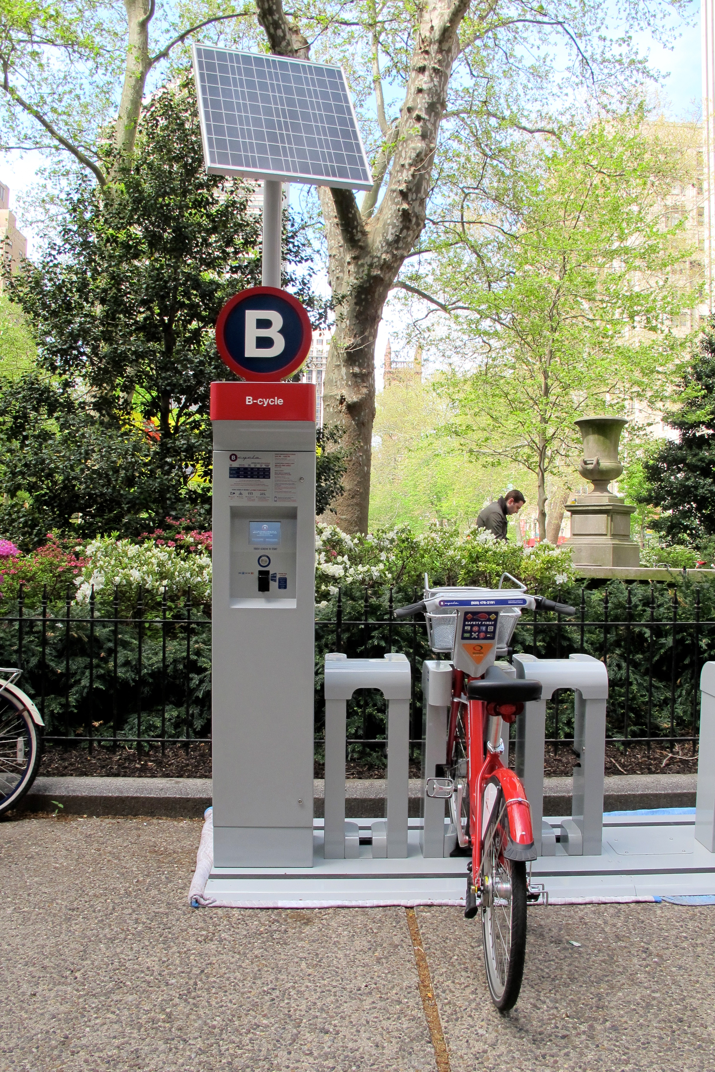 A B-cycle station