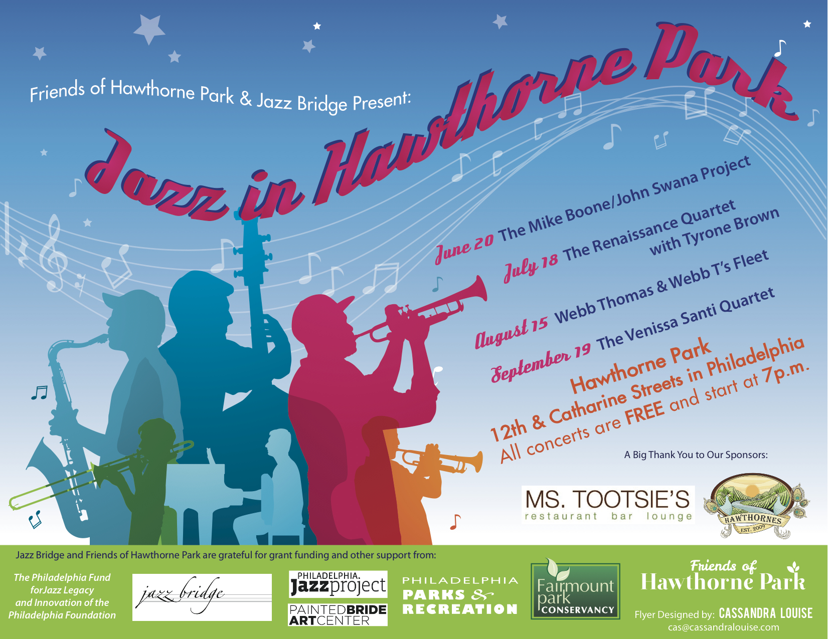 Jazz in Hawthorne Park
