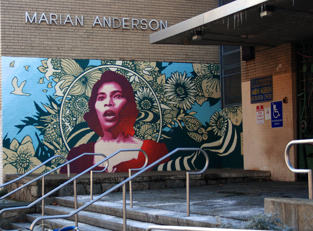 Marian Anderson Recreation Center, Photo courtesy of Phillytrax