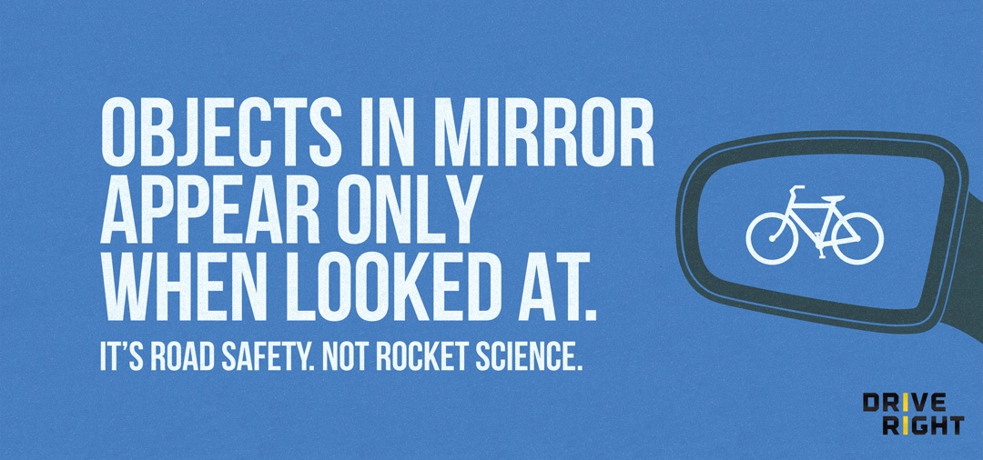 MOTU's PSAs remind, It's road safety. Not rocket science. Photo courtesy of MOTU