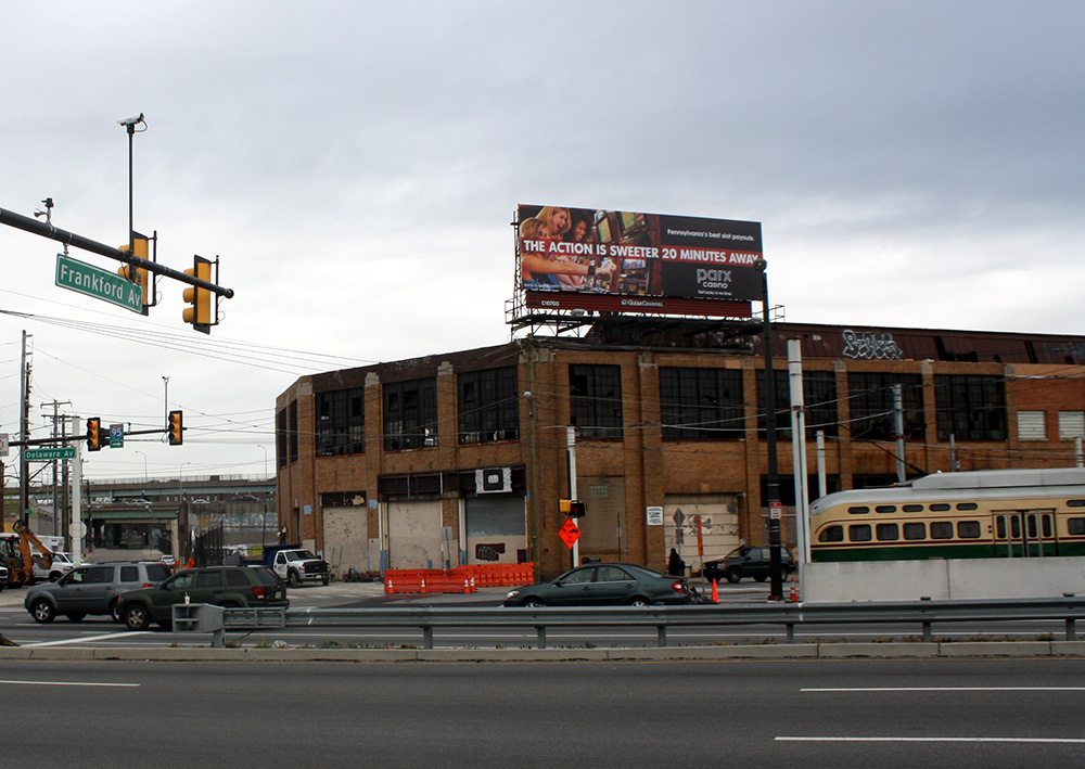 Canal Street North site, at Frankford and Delaware avenues