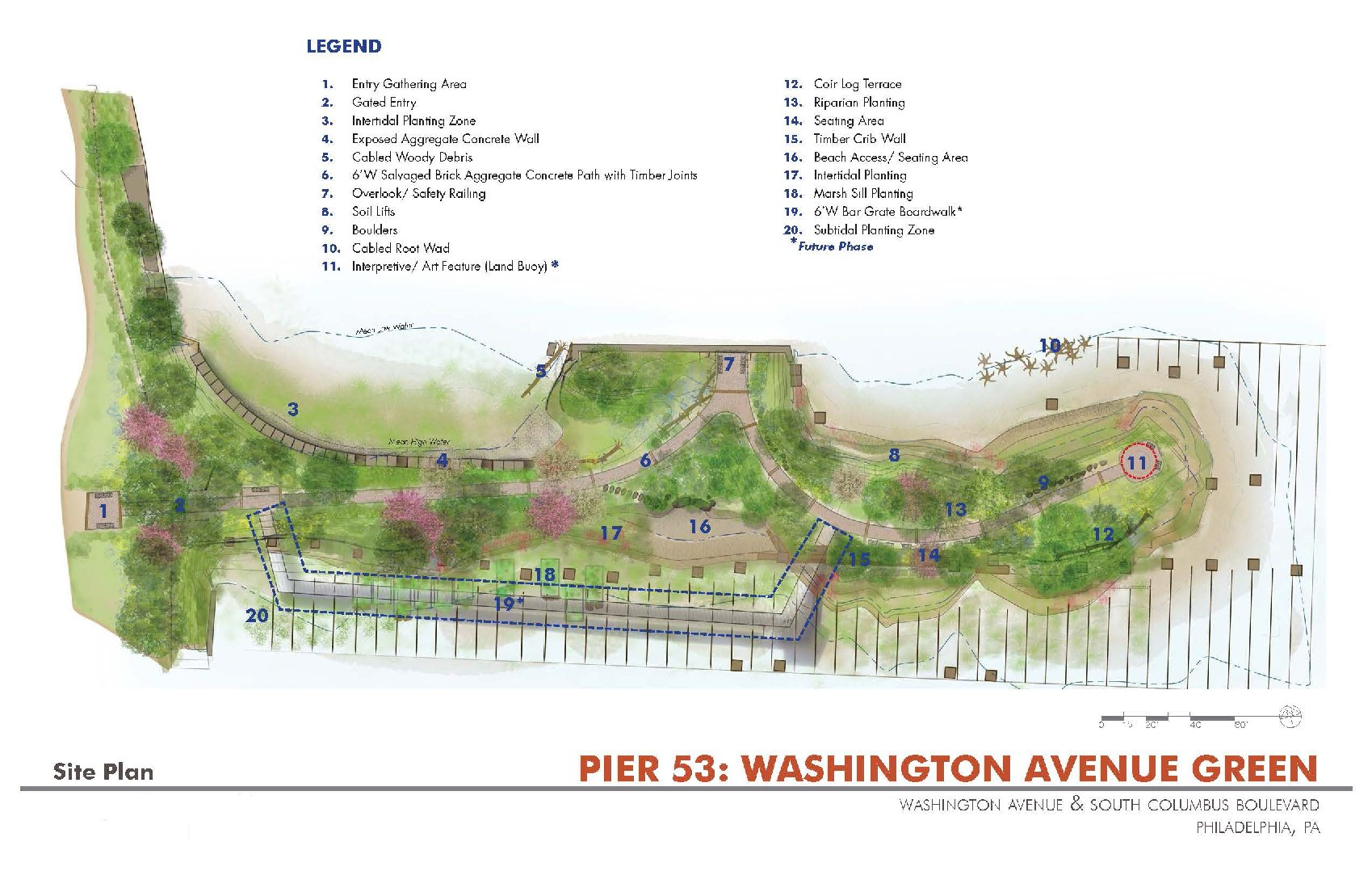 Pier 53 Site Map by Applied Ecological Services