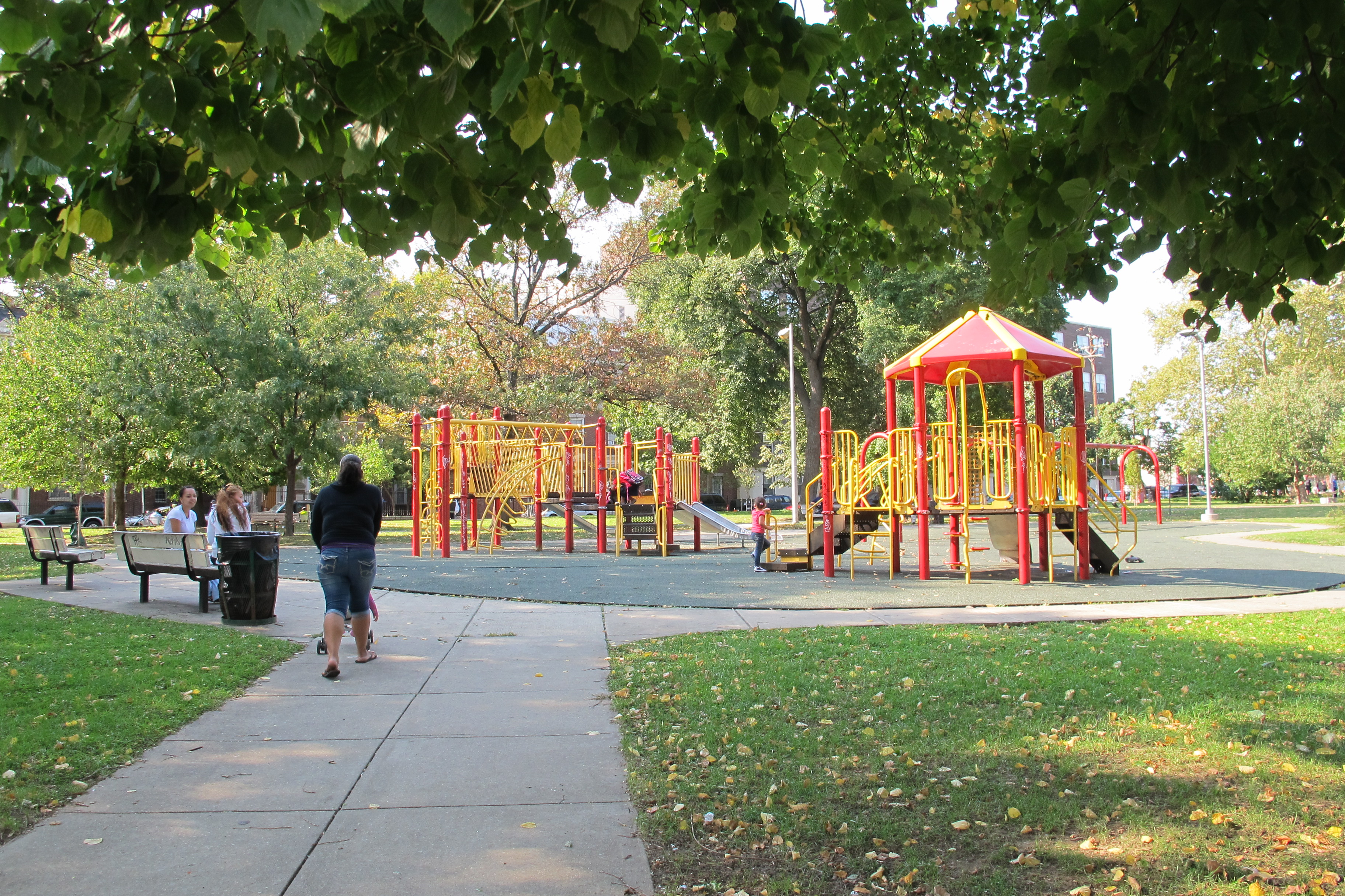 Playground at Fairhill Square