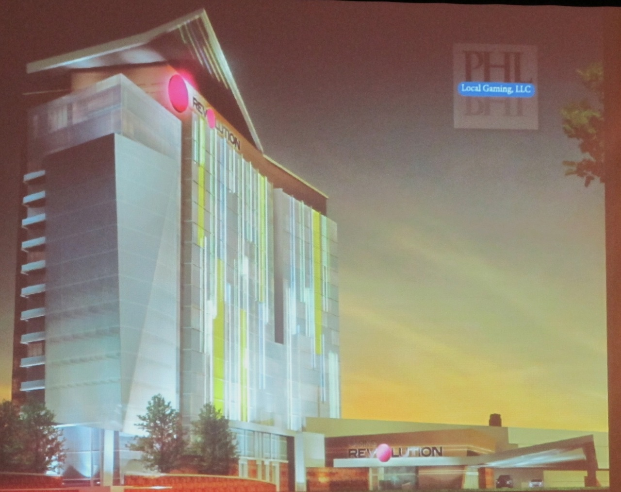PHL Local Gaming, LLC, proposing Casino Revolution at 3333 South Front Street.