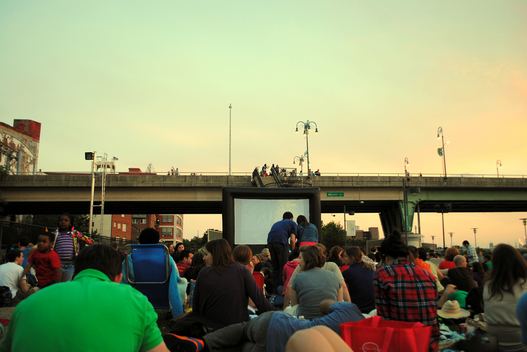 schuylkill banks movie night