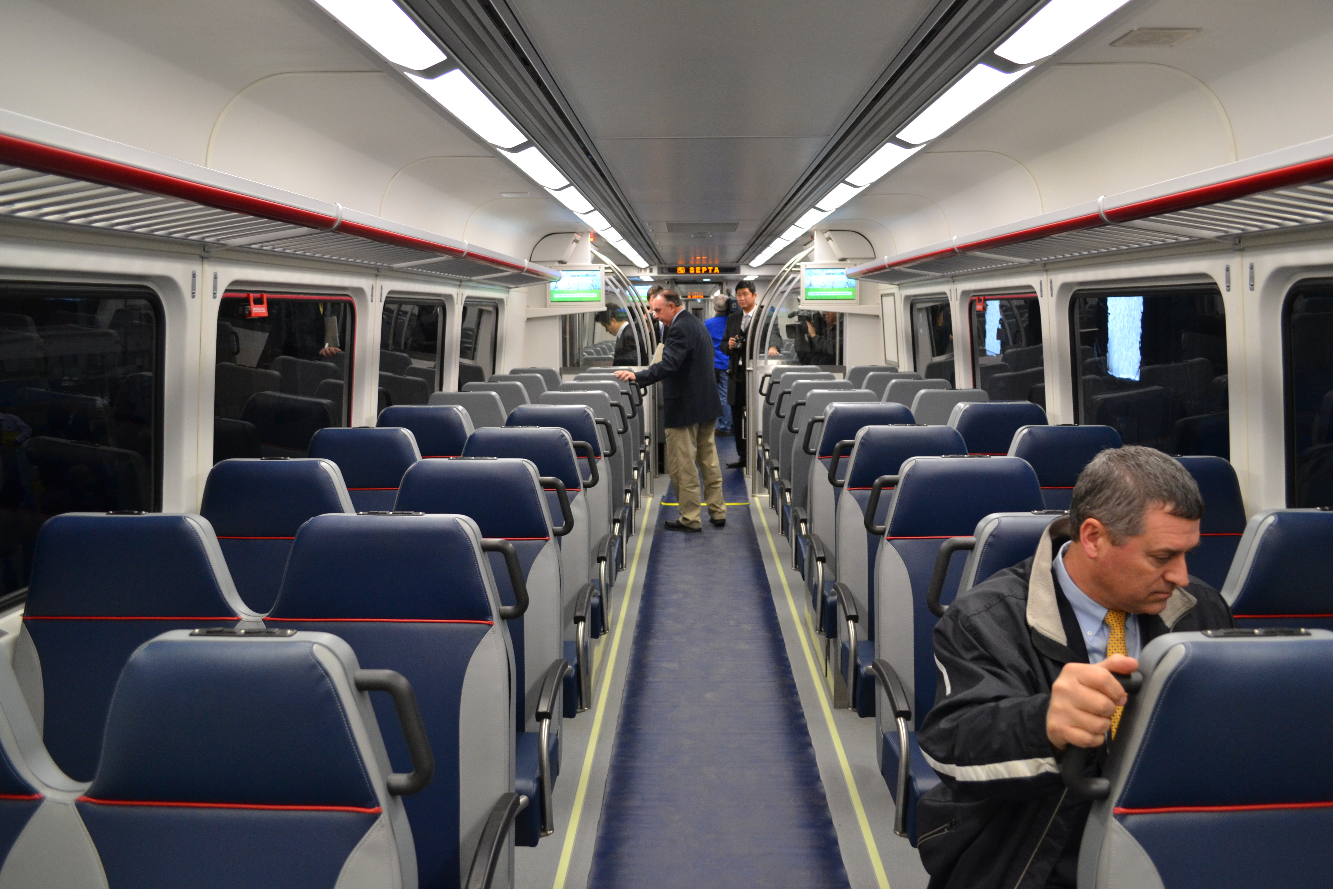 (SEPTA's new Silverliner V cars helped boost on-time performance)
