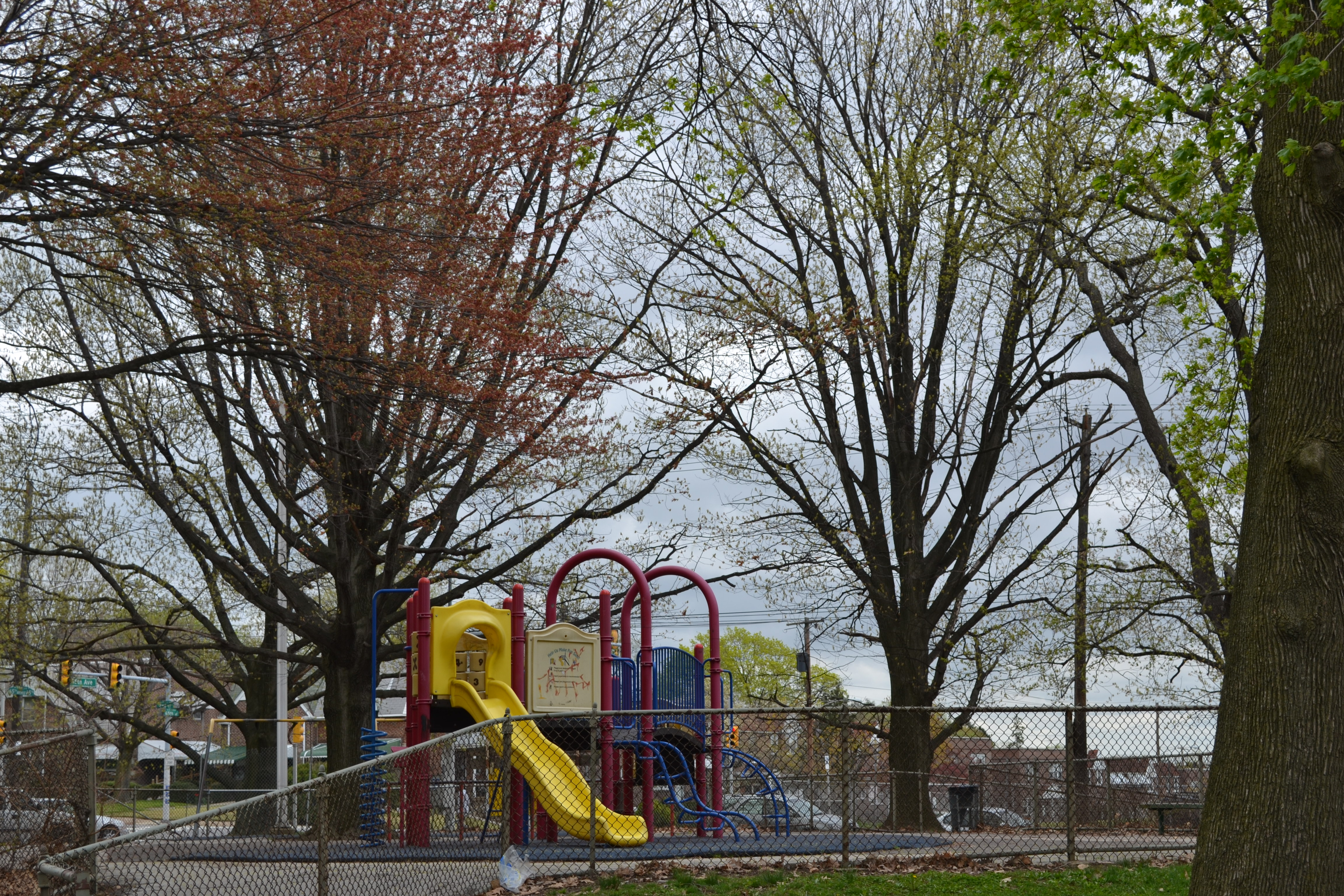 Sturgis Playground now has two main areas of playground equipment