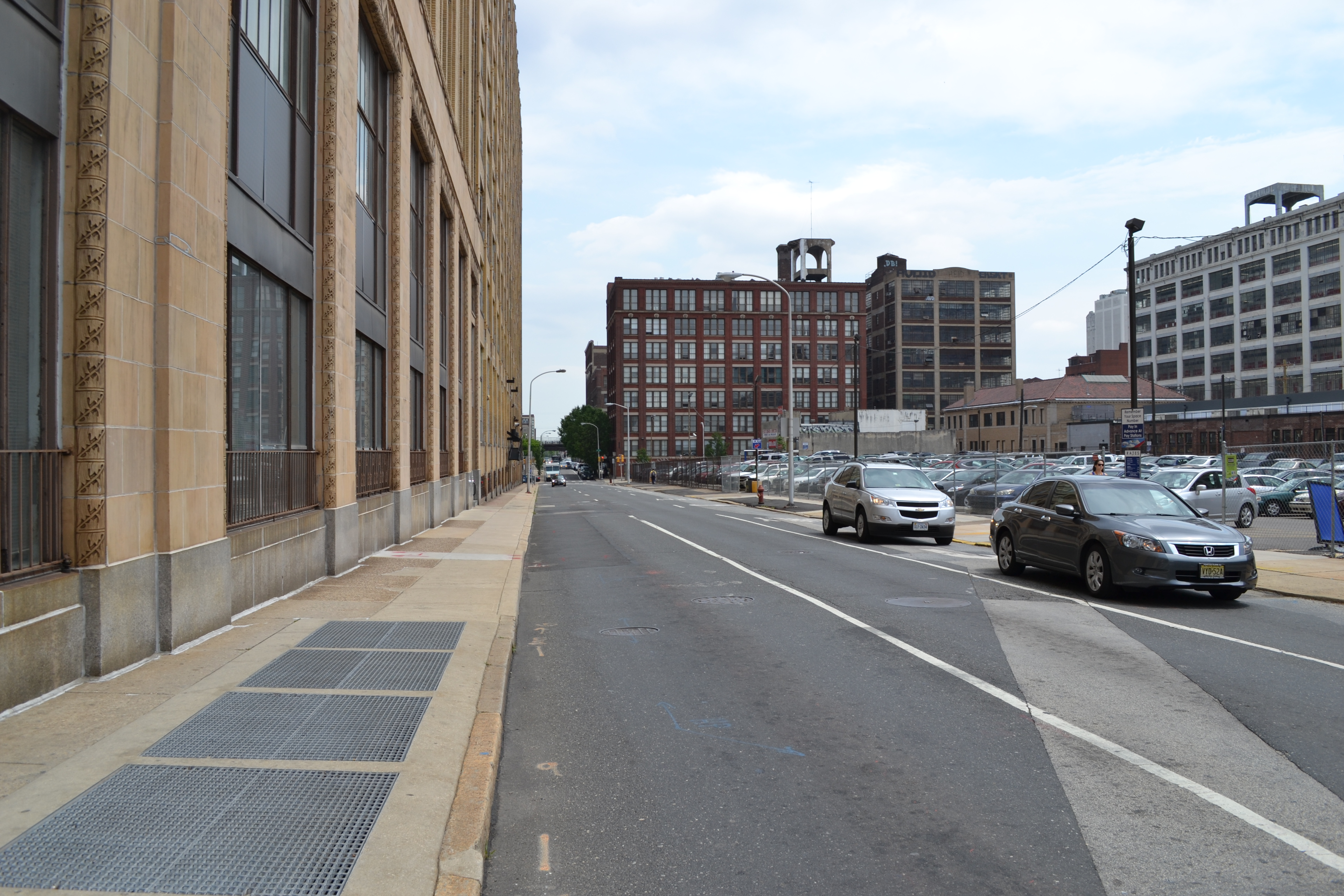 The designated right-turn lane from Callowhill Street onto Broad Street will likely be closed during construction