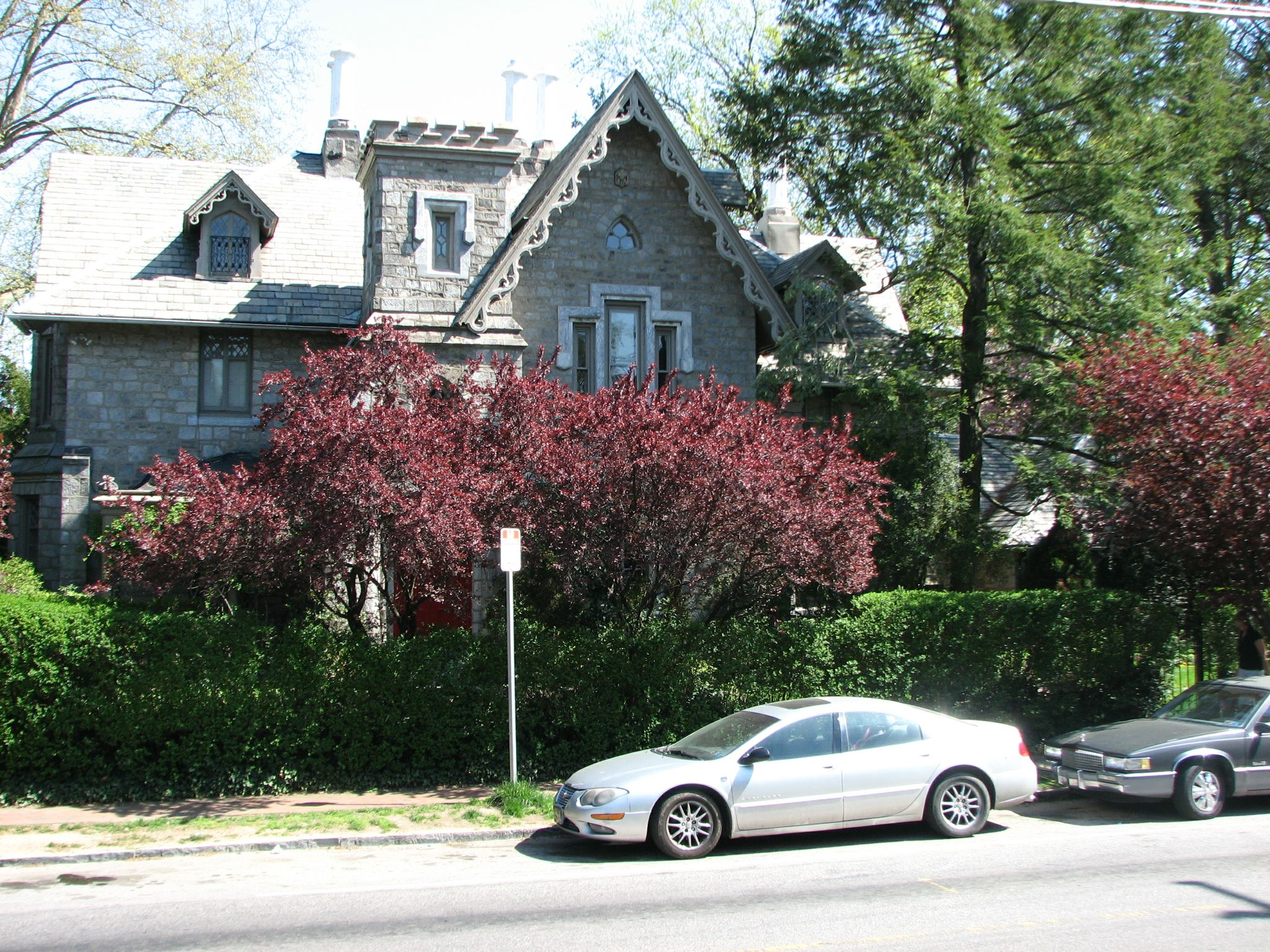 The Mitchell House, 200 West Walnut Lane, is wrapped in boxwood, cherry trees, and storybook mystique.