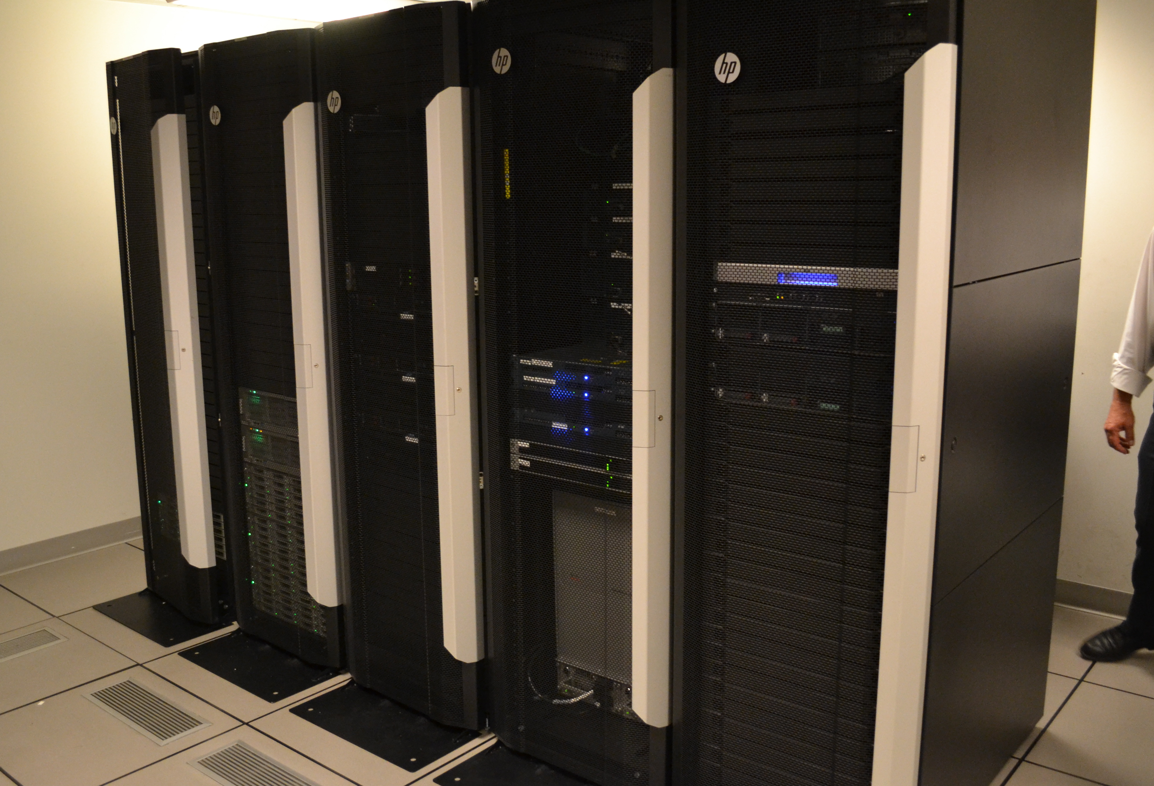 The New Payment Technology data center is capable of processing 50,000 transactions in less than a minute