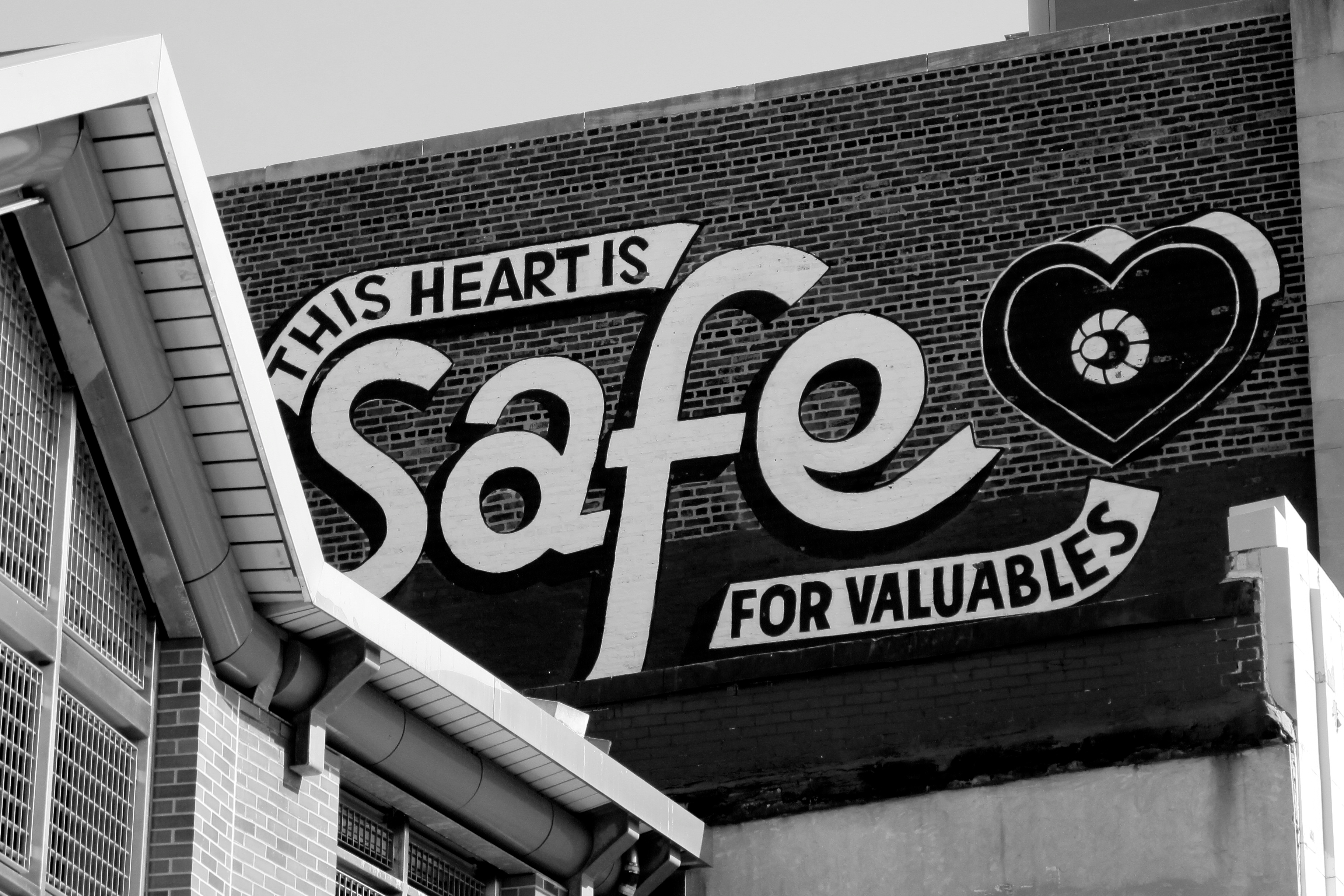 This heart is safe for valuables.