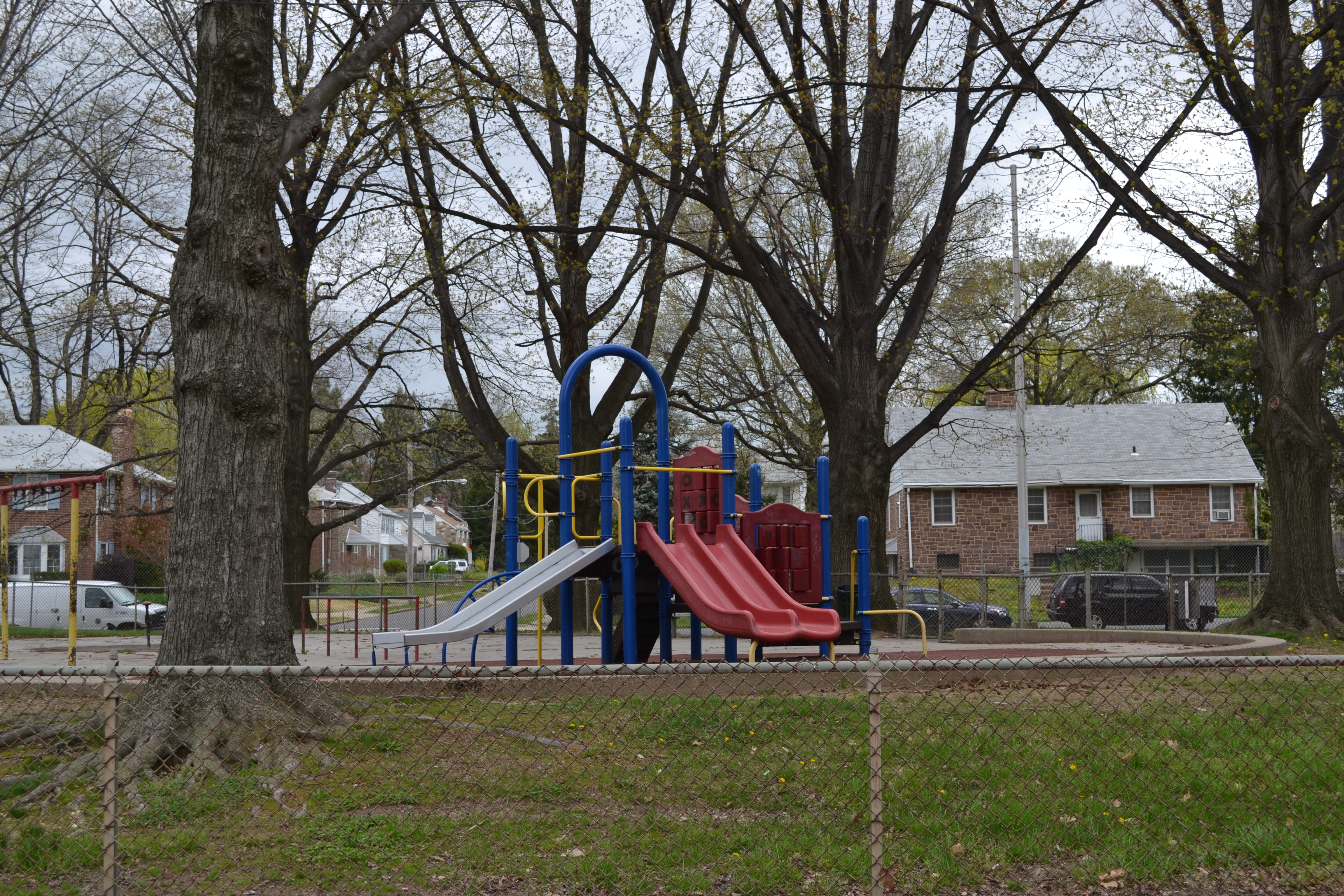 Today Sturgis Playground has two main areas with playground equipment
