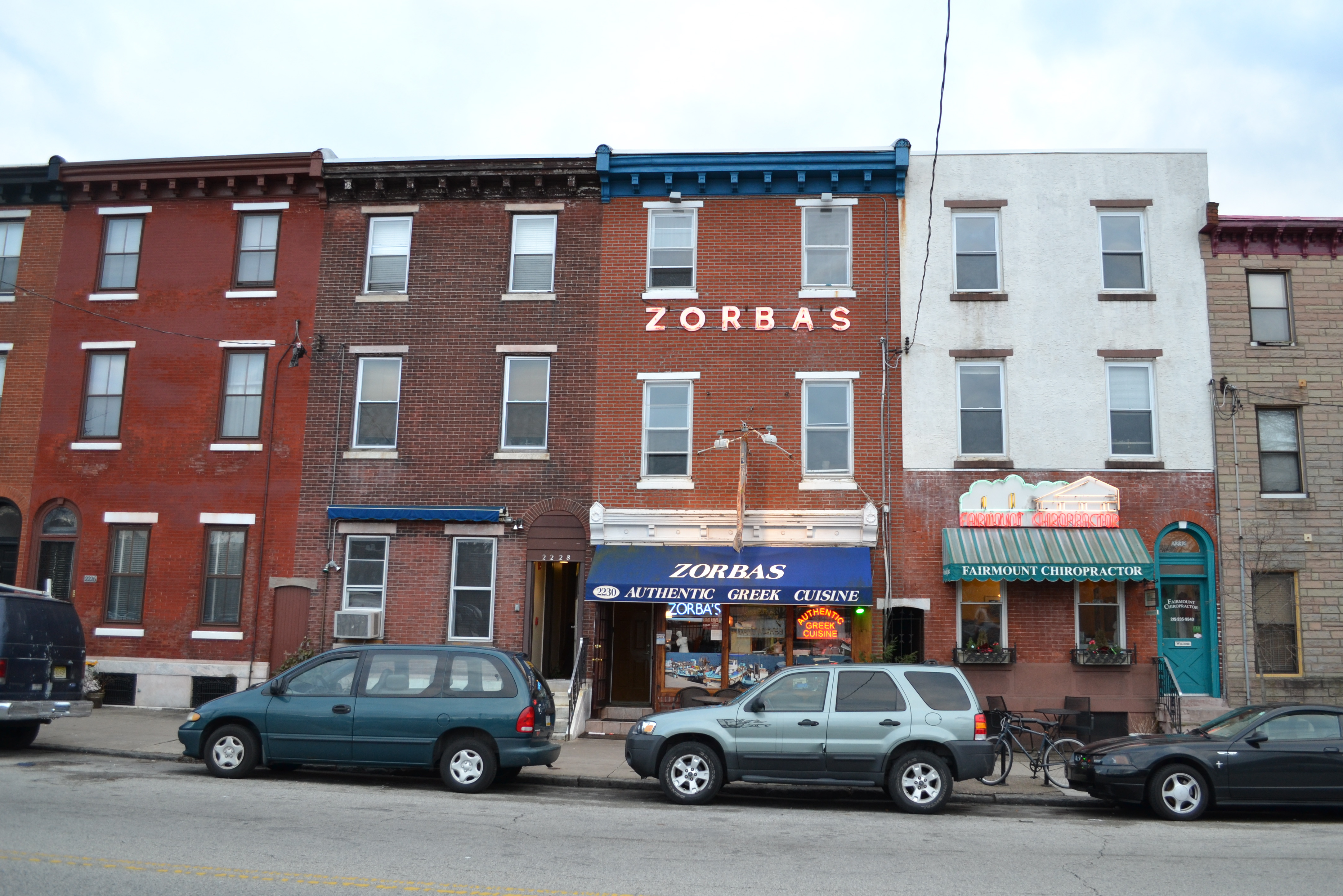 Zorba's, Fairmount Ave