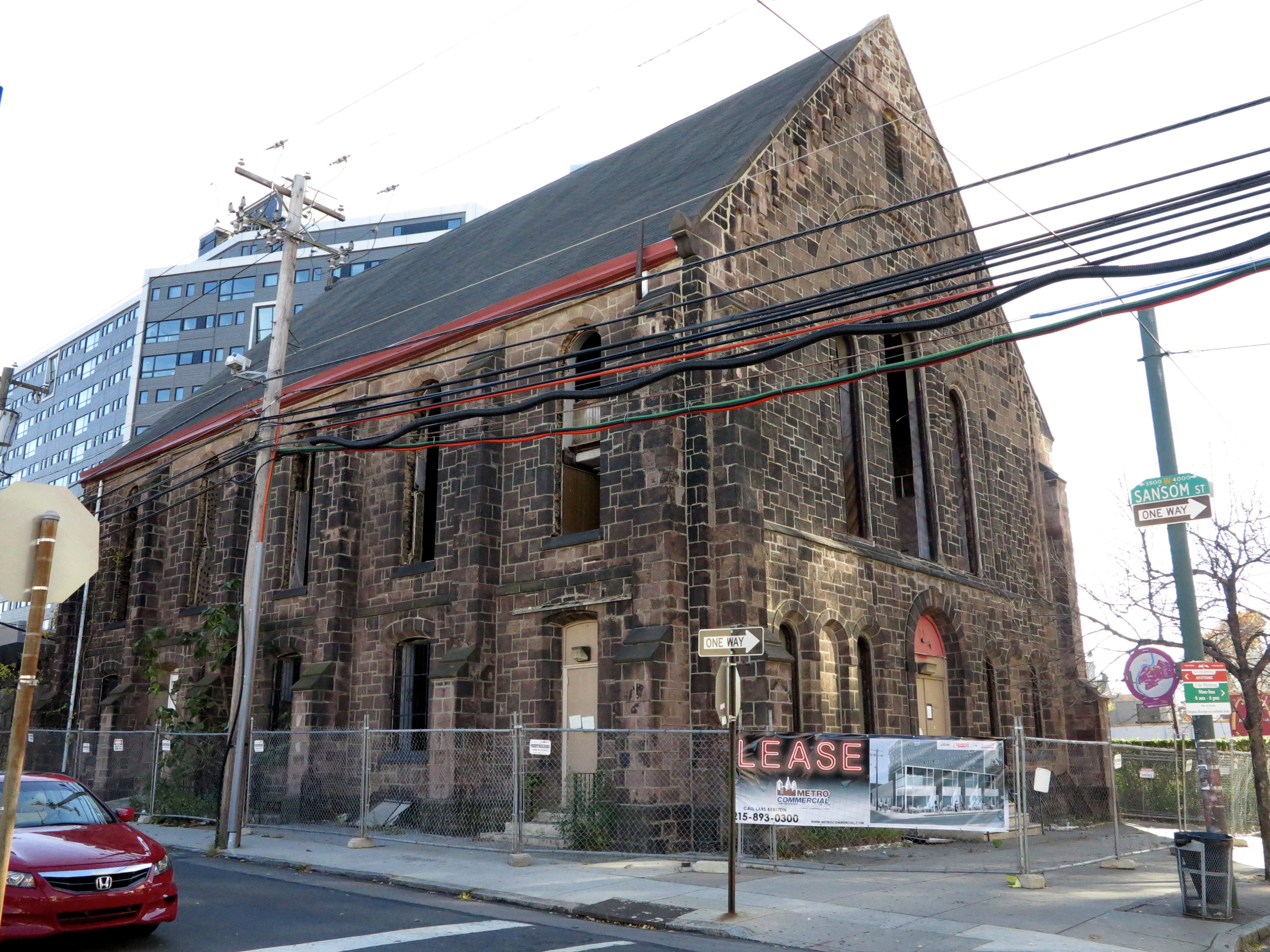 40th Street Methodist Episcopal Church, 40th and Sansom, November 2013