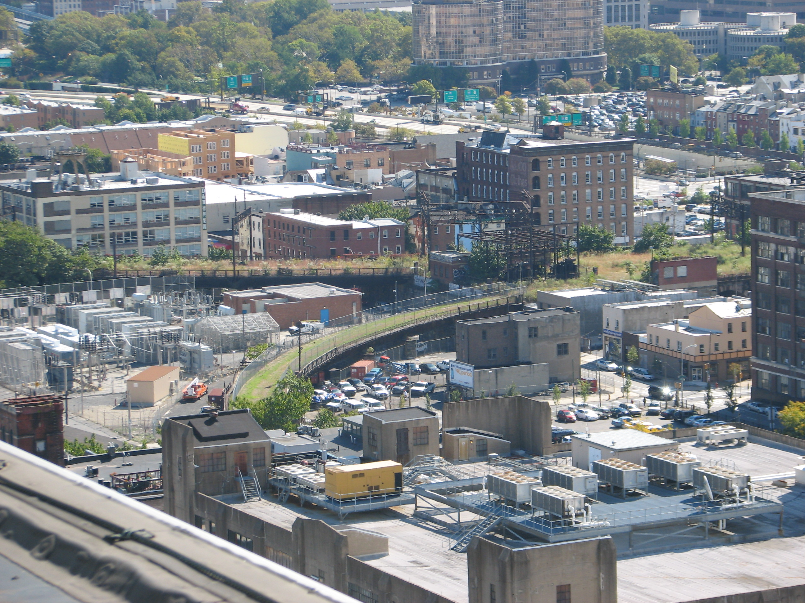 If Blatstein gets the license, he pledges to extend the Reading Viaduct - which many want to turn into an elevated park - to Broad Street. He owns a parcel of property through which the connection could be made.