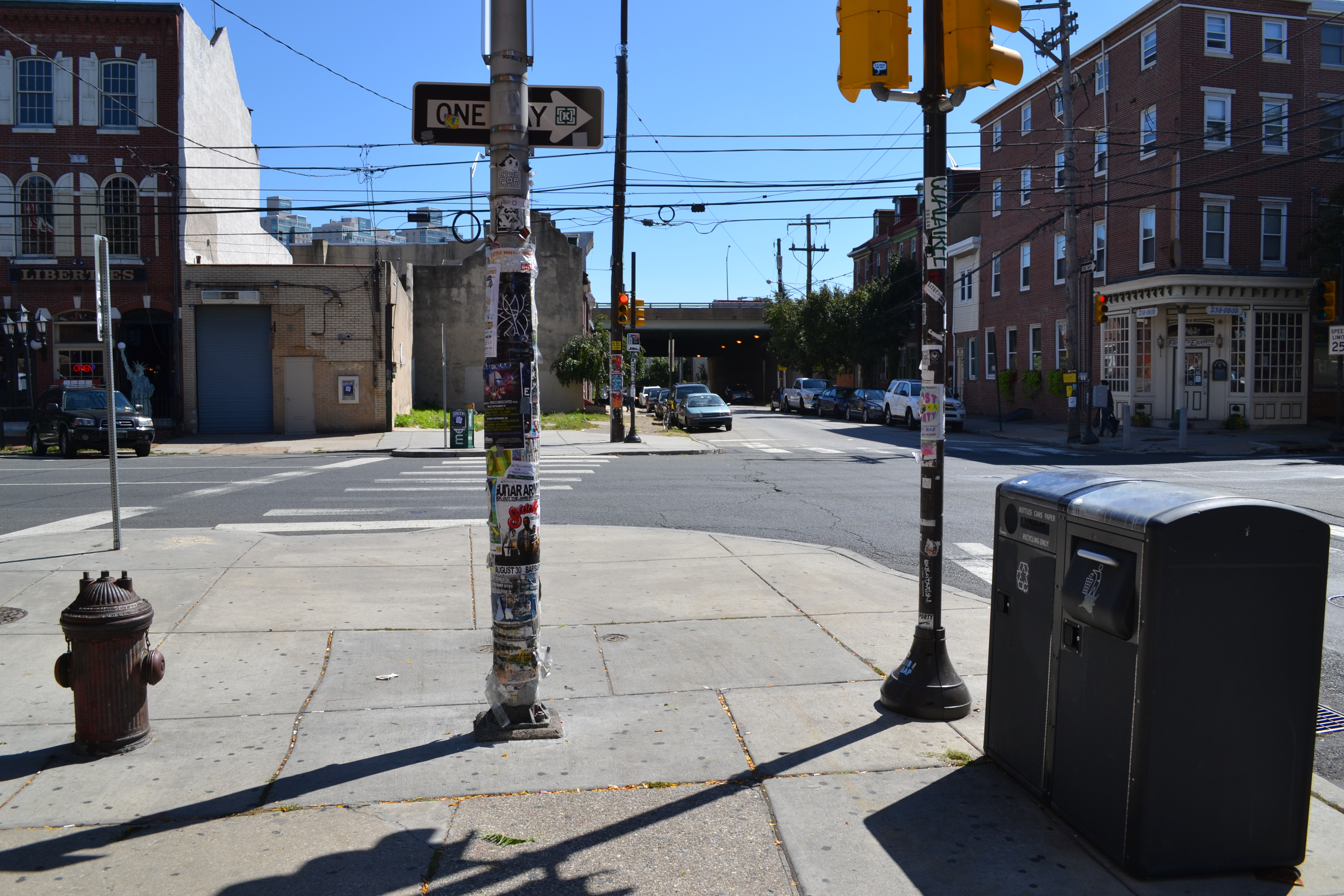 As Northern Liberties becomes more of a destination neighborhood, there is more emphasis on reducing litter