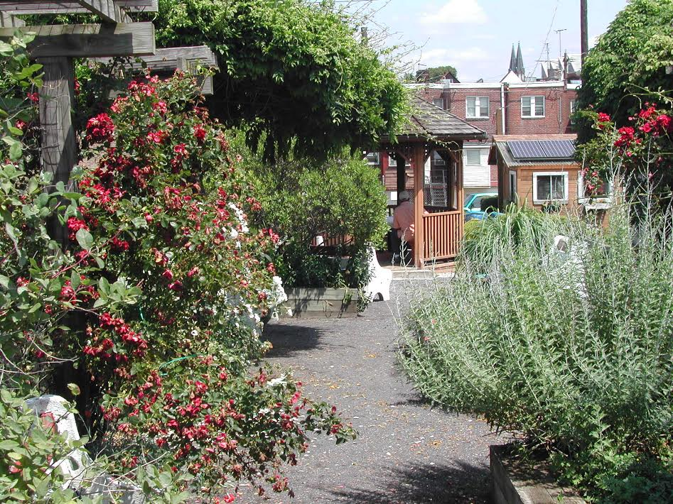 Aspen Farms, one of the city's most established community gardens, photo courtesy PHS