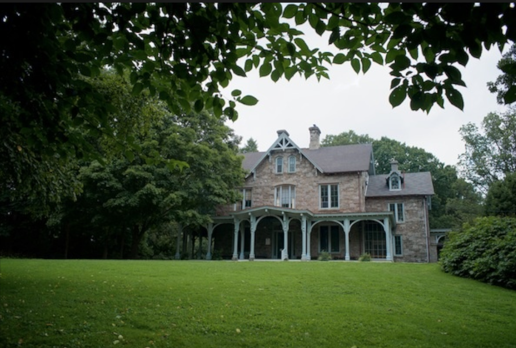 The arboretum is hoping to attract more events to the grounds, including the handsome, mid-19th century Francis Cope House that serves as arboretum headquarters. (Bas Slabbers/for NewsWorks)